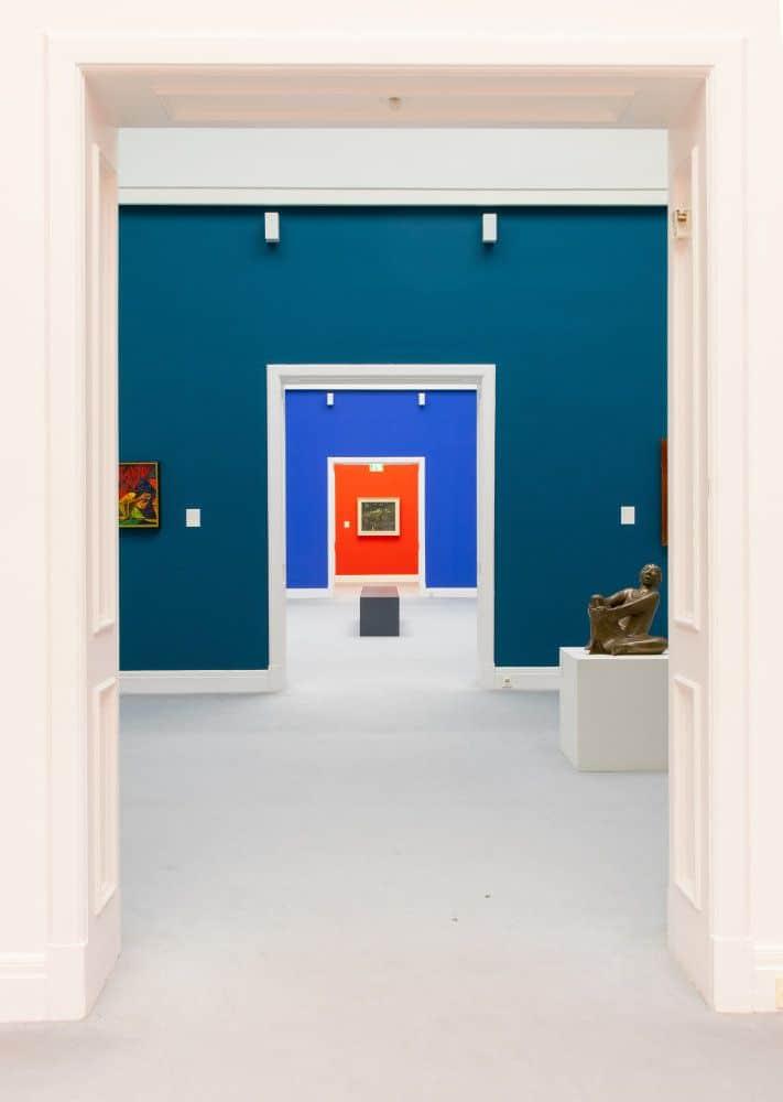 kiel kunsthalle bilder gang Museum