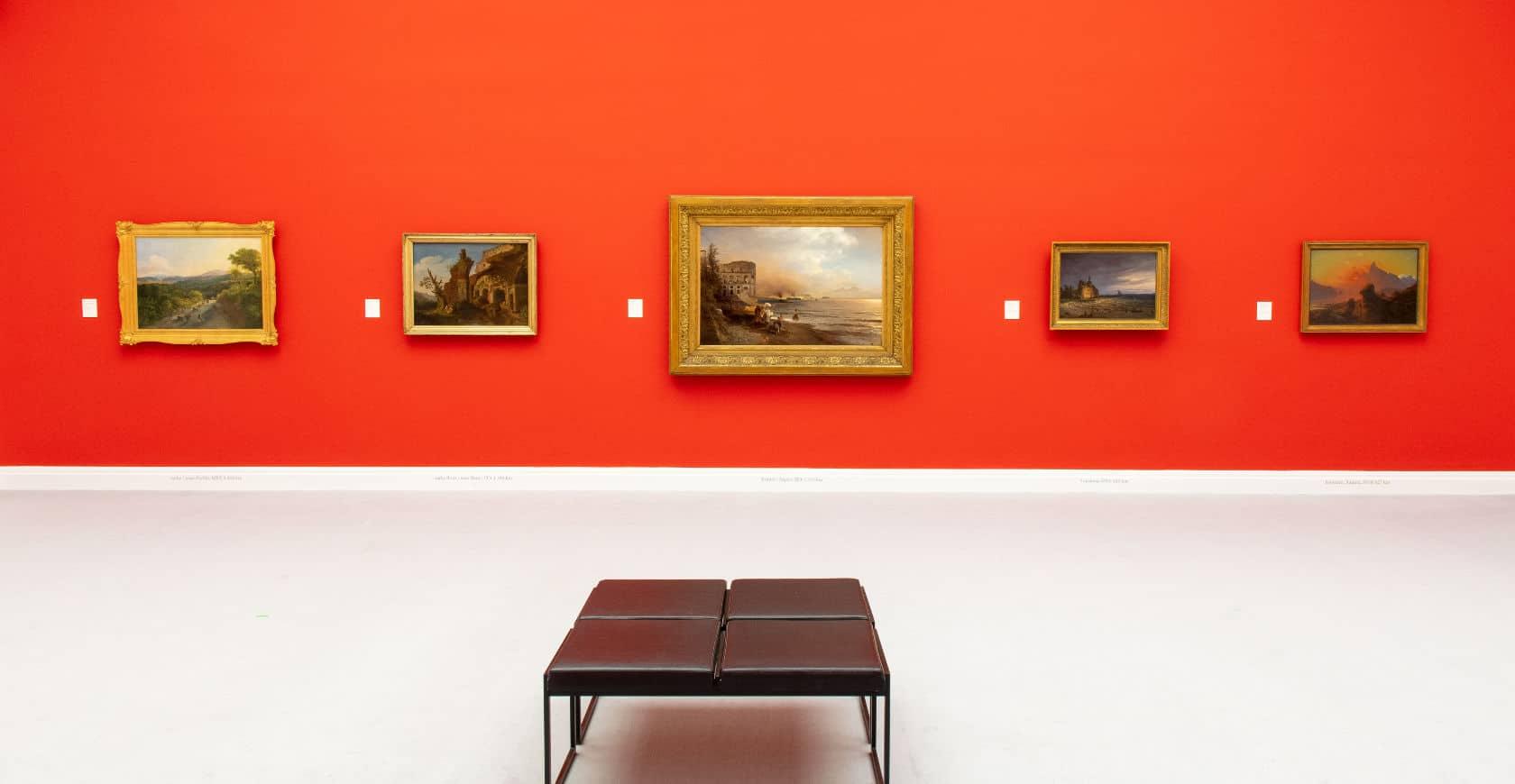 kunsthalle kiel orange wand Museum
