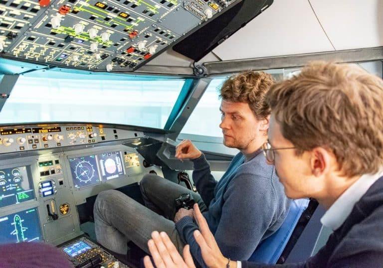 Kiel Flugsimulator a320 northbound1 Flugsimulator