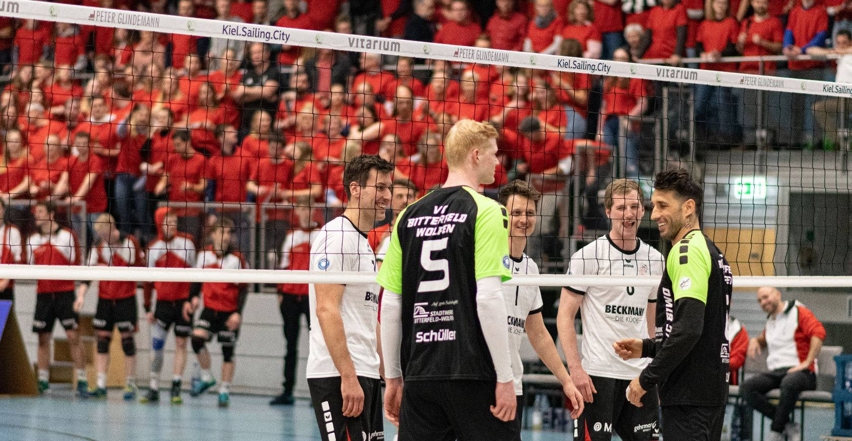 Kiel Volleyball Adler Bundesliga 8 Volleyball