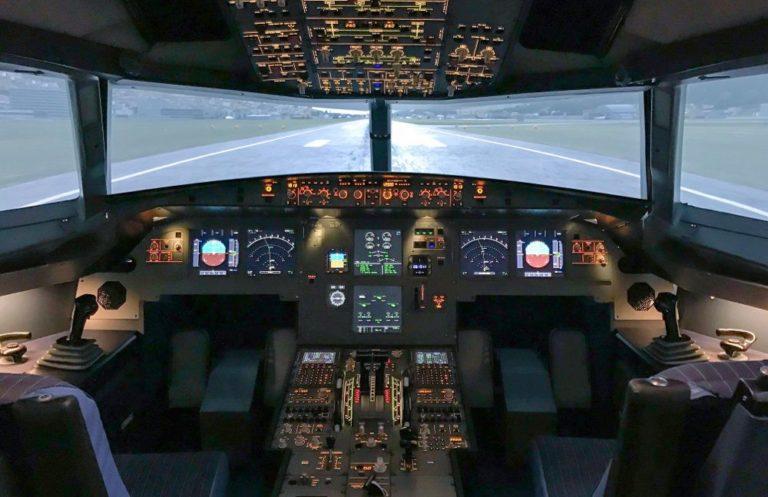 flugsimulator northbound cockpit Flugsimulator