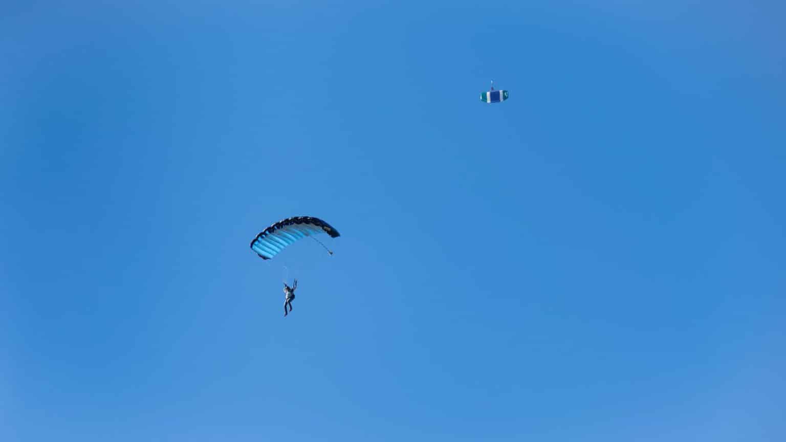 fallschirmspringen kiel ostsee Fallschirmspringen