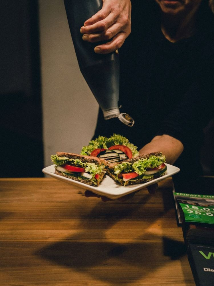 Blattgold Kiel Sandwiches Blattgold