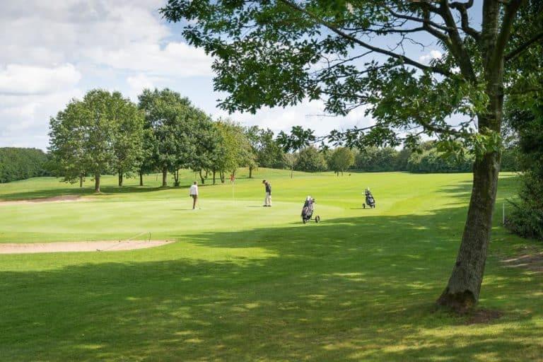 Kiel Golf Beitrag Golfplatz 1 Golf