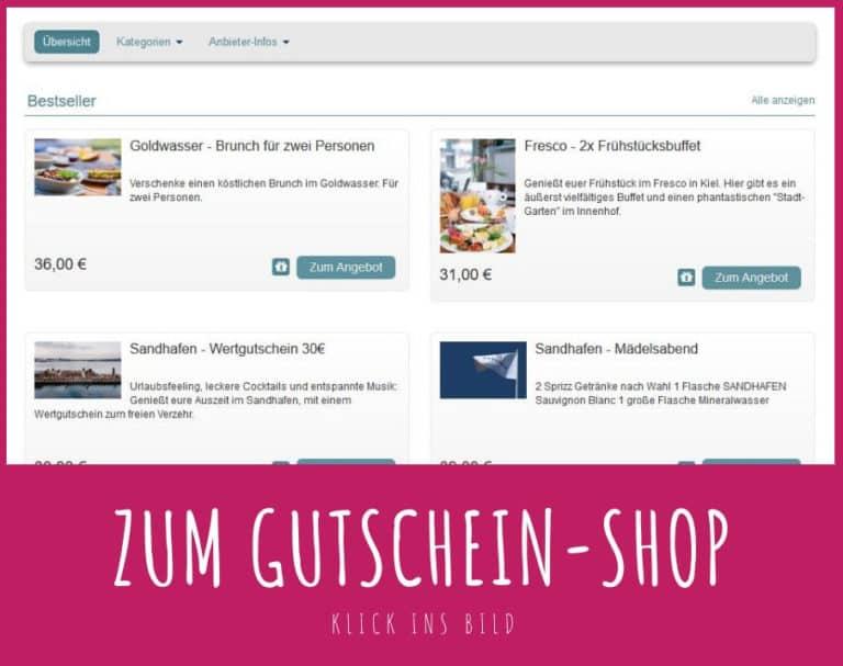 Kiel Gutschein Shop kaufen gross 1 Gutscheine