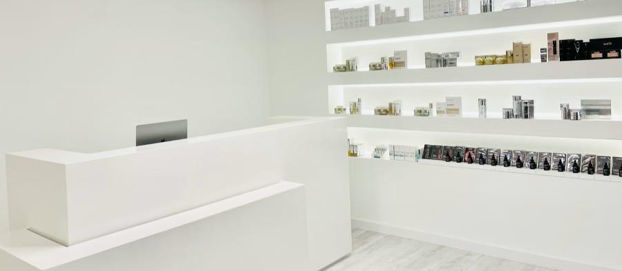 amiri kosmetik tresen Kosmetik-Studios