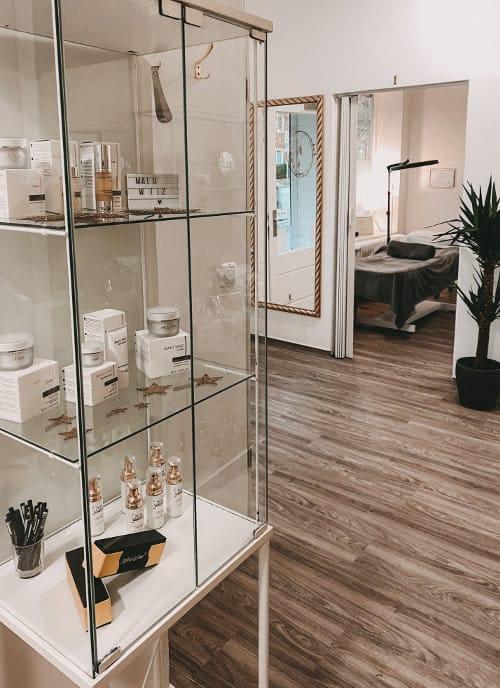beauty on fleek innen Kosmetik-Studios