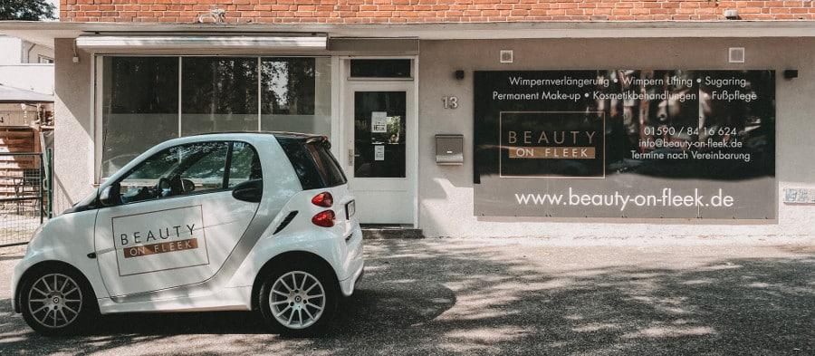 beauty on fleek studio Kosmetik-Studios