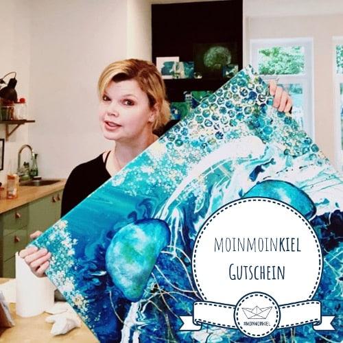 buntes im gruenen gumz logo gutschein Weihnachtsfeier in Kiel