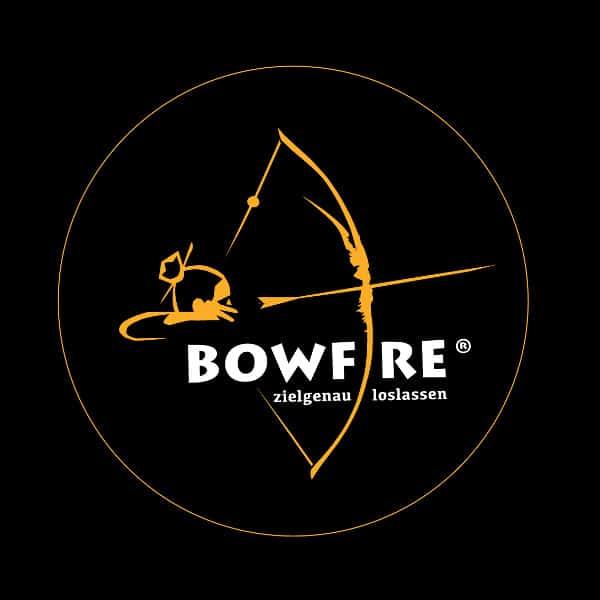 Bowfire log Bogenschießen
