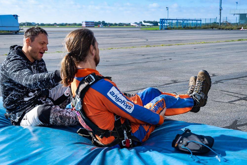 Kiel Fallschirmspringen Possi kl Fallschirmspringen