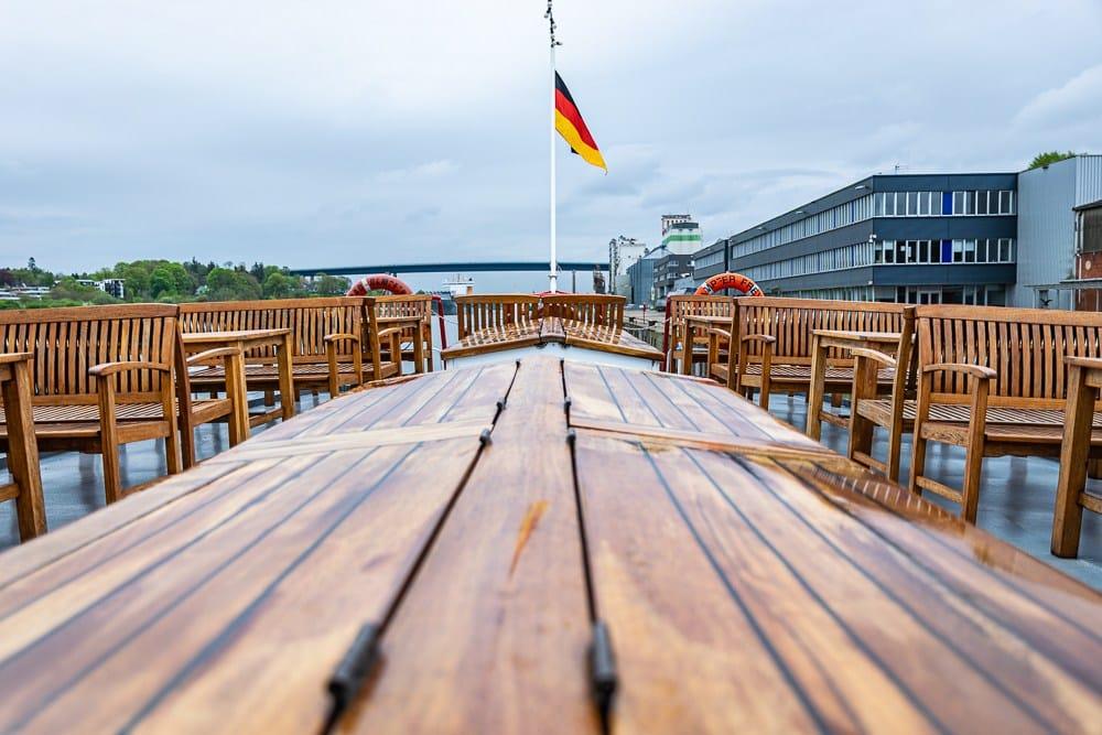 Kiel Schiffahrt Brunch 1 klein Schifffahrt