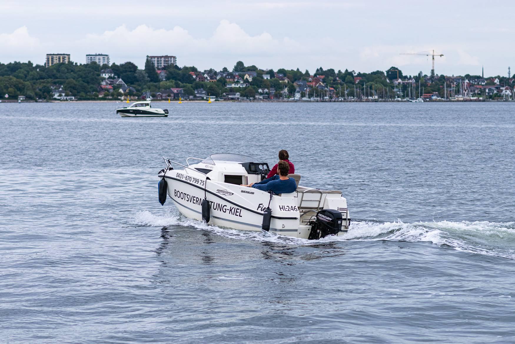 Motorboot Fahren Kiel 1 Motorboot fahren