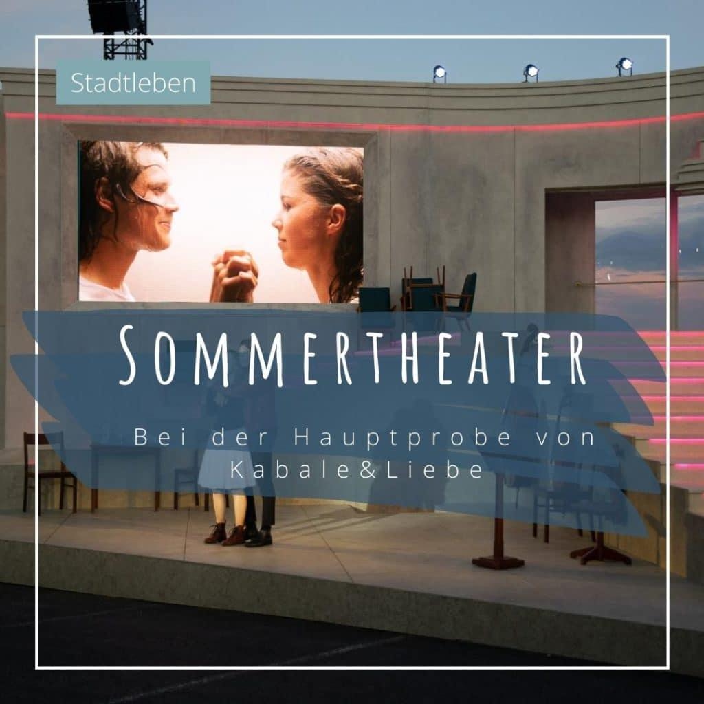 Sommertheater Kiel Kabale Liebe Blaues Wunder