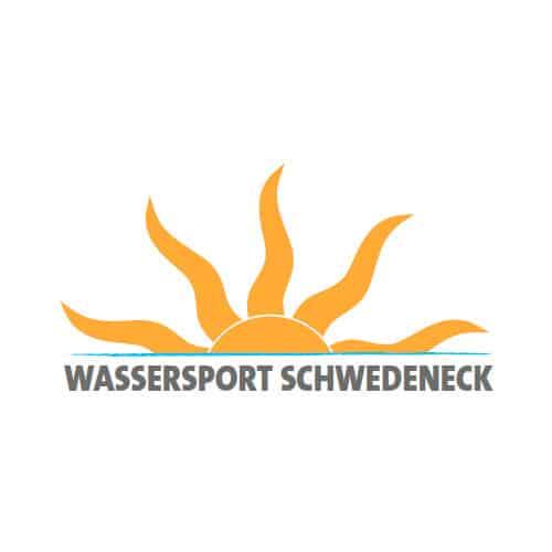 Wassersport Schwedeneck Logo Windsurfen