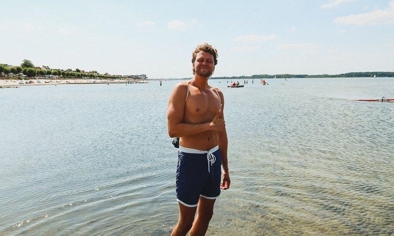 Windsurfen Kiel Laboe surfen lernen6 Windsurfen