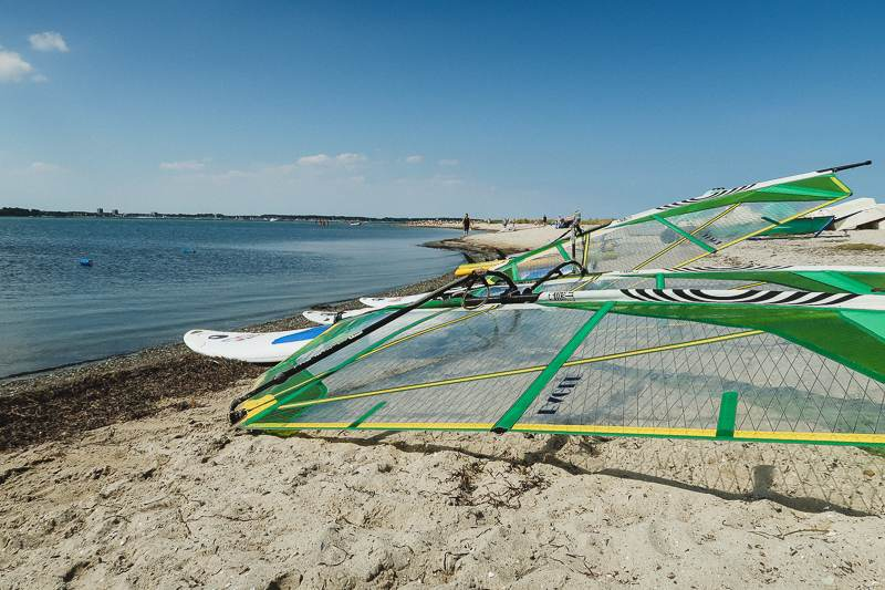 Windsurfen Kiel Laboe surfen lernen8 Windsurfen