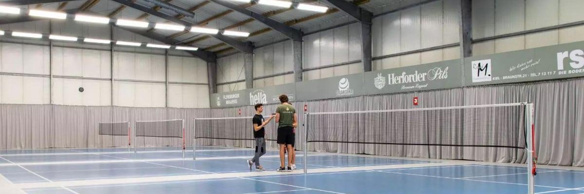 kiel badminton halle Badminton
