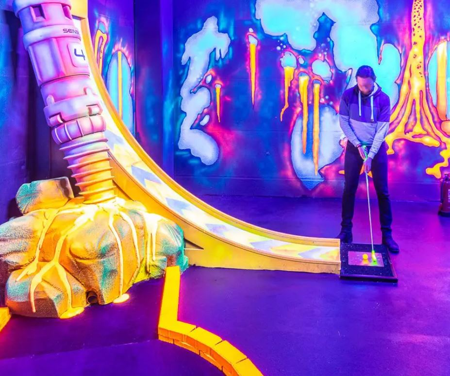 minigolf action arena kiel Minigolf