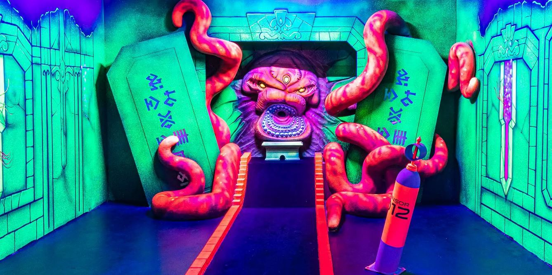 minigolf action arena start Minigolf