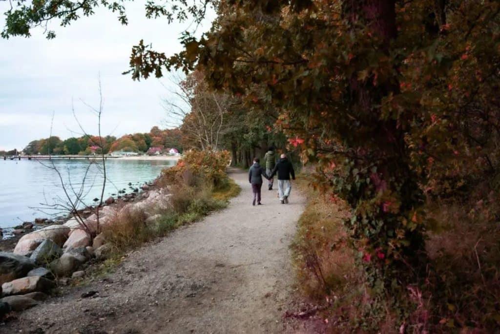 spazierengehen ostsee weg Spazierengehen