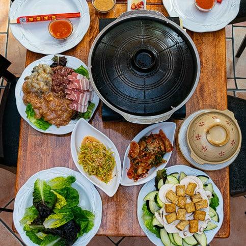 kimchi kiel tischgrill Restaurants